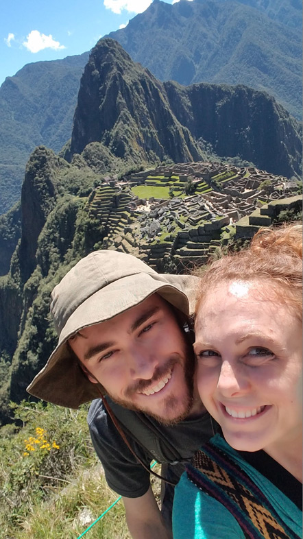 Emily and I at Machu Picchu