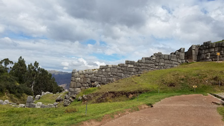 A portion of the fortress wall.