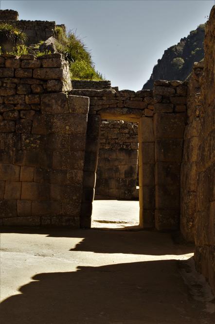 An Incan doorway.