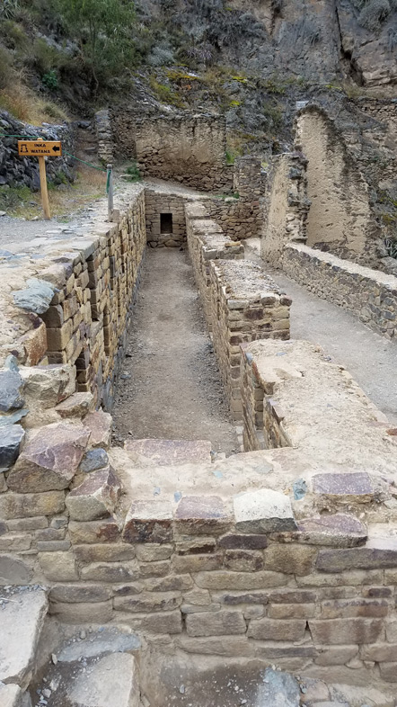 Incan houses