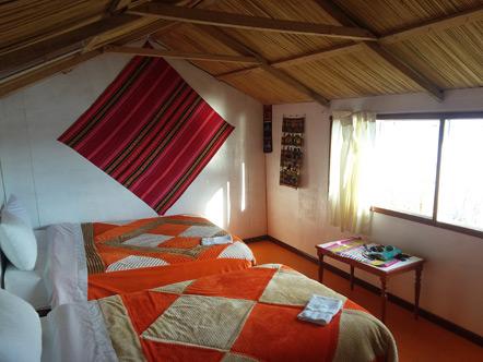 Our room at Uros Aruma Uro.