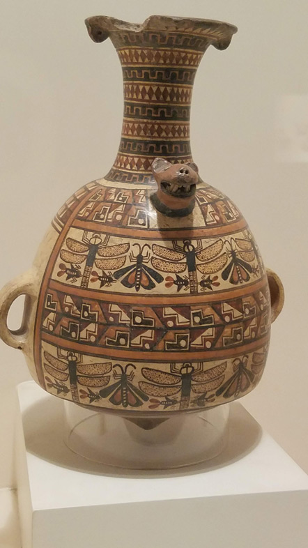 This is an Inca style urpu. A ceremonial vessel meant to contain chicha.
