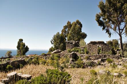 Pre-Incan ruins.