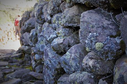 A pre-Incan wall.