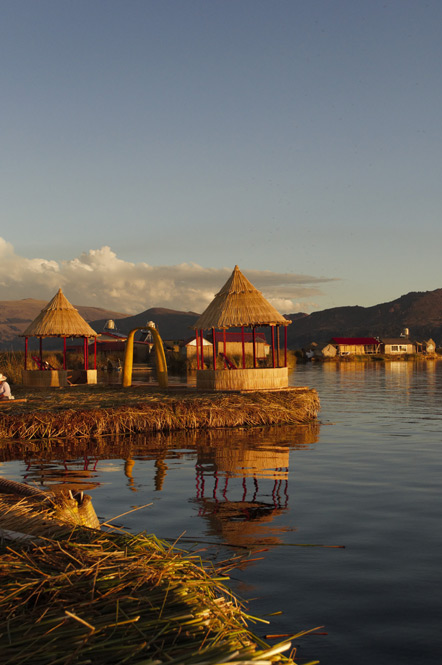 The Uros Islands.