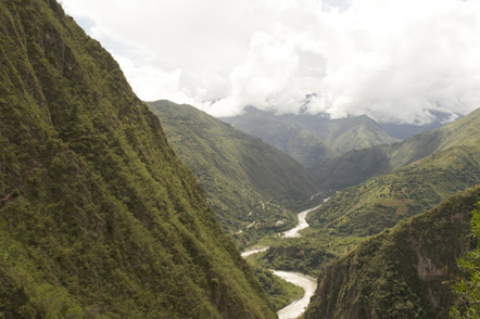 A view from the Inca Trail.